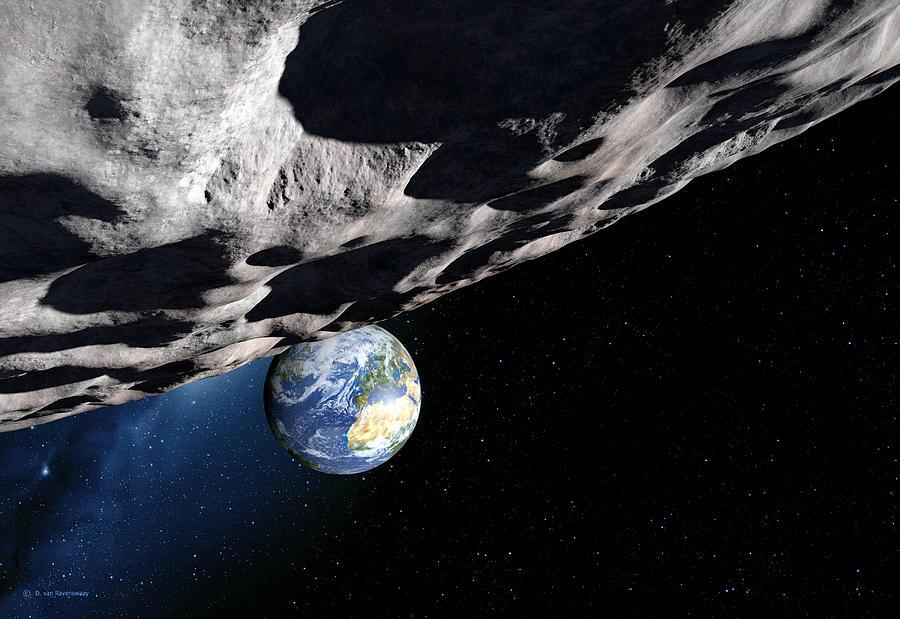 En 2020, récord de asteroides cercanos a la Tierra
