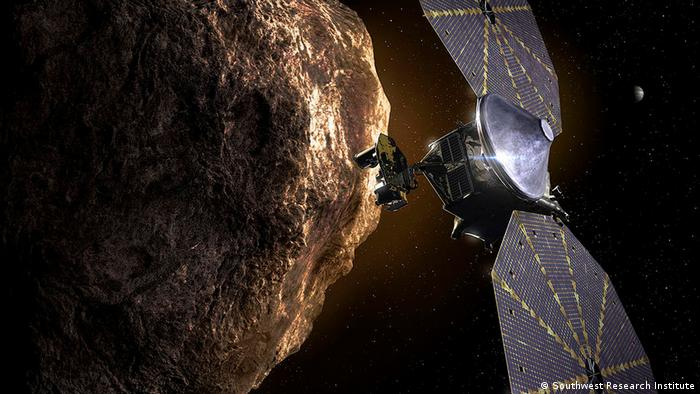 Primera exploración de los asteroides troyanos